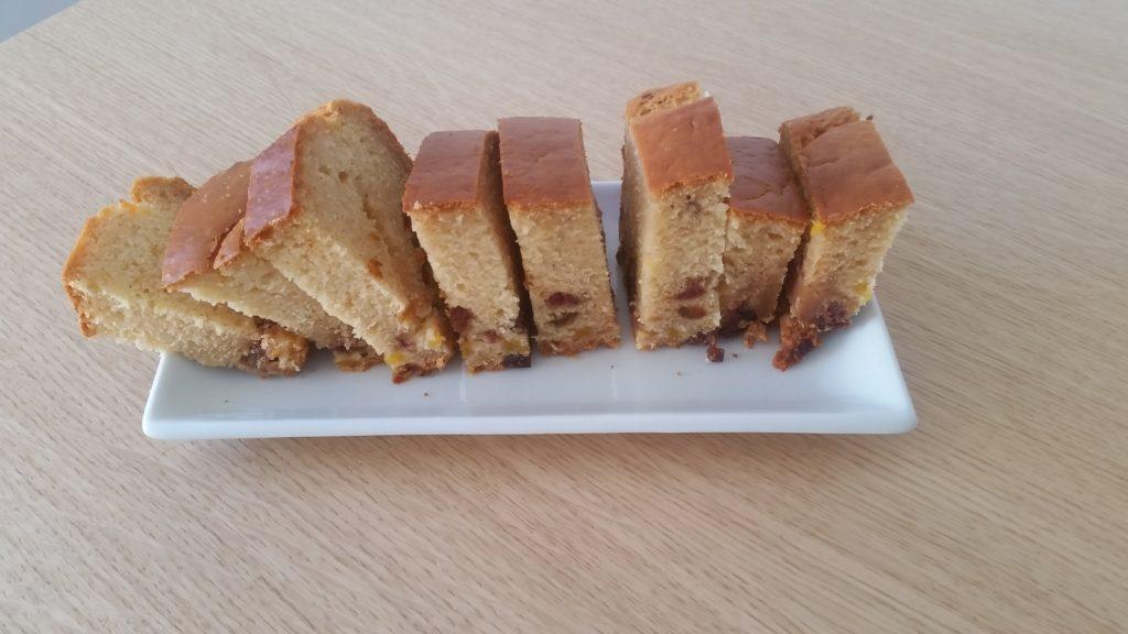 Gâteau énergétique sucré